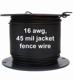 1000 ft Wire Spool 16 awg Professional Dog Fence Wire