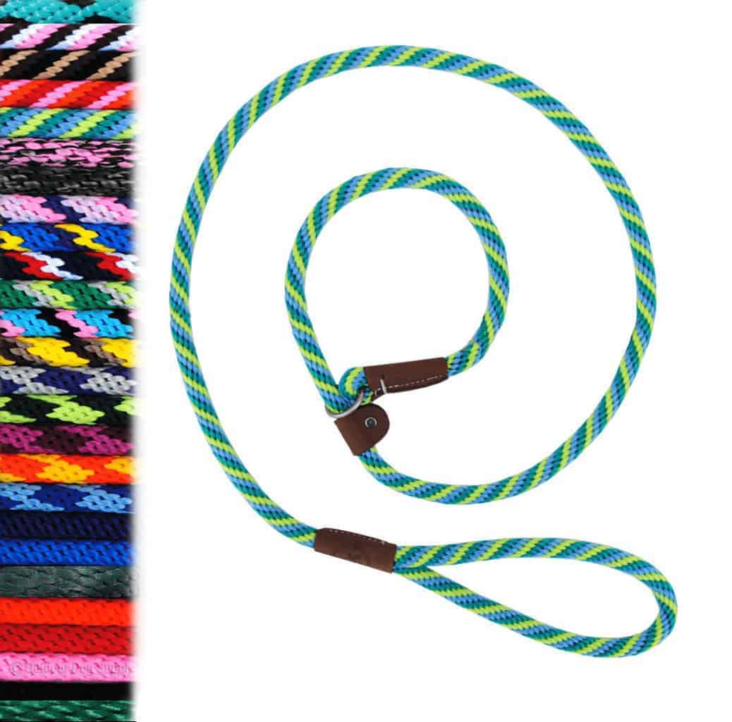 6 ft Slip Lead British Style by Mendota Quick Leash