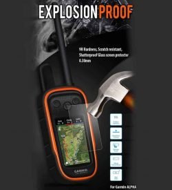 Garmin Alpha Screen Protector Shield Explosion Proof