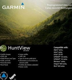 Garmin HuntView™ Maps