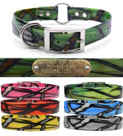 Premium-Glow-Tuff-Pattern-Center-Ring-Dog-Collar