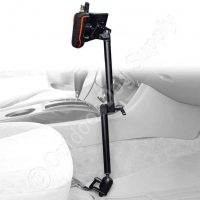 Premium Aluminum Arm Double Mount for Garmin Alpha, Astro & DriveTrack 70 (Seat Bolt)