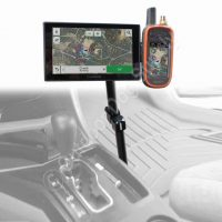 Premium Aluminum Arm Double Mount for Garmin Alpha, Astro & DriveTrack 70
