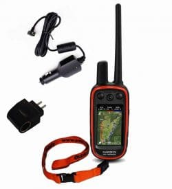 Garmin alpha handheld with birdseye and chargers