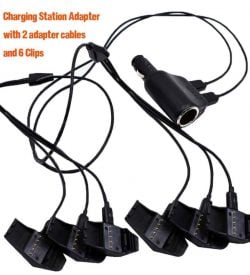 6 Port High Speed Vehicle Multi Charger for Alpha & Astro Collars