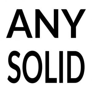 Any Solid