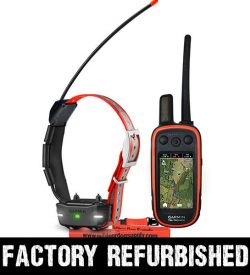 Factory Refurbished Garmin Alpha 100 TT15 Mini Track and Train Bundle